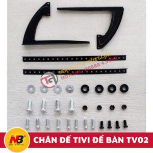 Chân Đế Tivi Để Bàn Nhập Khẩu TV02 - 4
