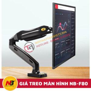 Giá Treo Màn Hình Máy Tính Nhập Khẩu NB-F80-2