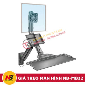 Giá Treo Màn Hình Máy Tính Nhập Khẩu NB-MB32-1