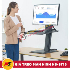 Giá Treo Màn Hình Máy Tính Nhập Khẩu NB-ST15-2