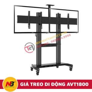 Giá Treo Tivi Nhập Khẩu Di Động NB-AVT1800-60-2A-2