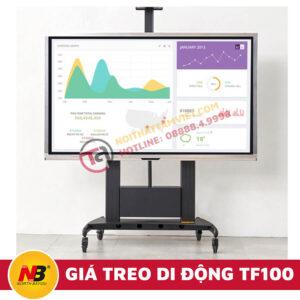 Giá Treo Tivi Nhập Khẩu Di Động NB-TF100-1