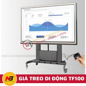 Giá Treo Tivi Nhập Khẩu Di Động NB-TF100-2