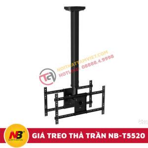 Giá Treo Tivi Nhập Khẩu Thả Trần NB-T5520-1