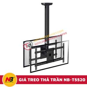 Giá Treo Tivi Nhập Khẩu Thả Trần NB-T5520-2
