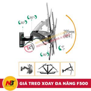 Giá Treo Tivi Nhập Khẩu Xoay Đa Năng NB-F500-5