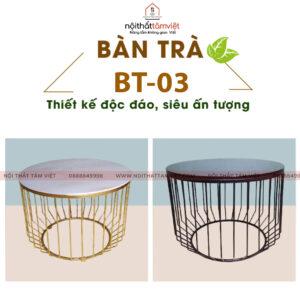 Bàn Trà Tâm Việt BT-03-1