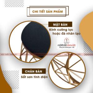 Bàn Trà Tâm Việt BT-04-2