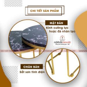 Bàn Trà Tâm Việt BT-10-2