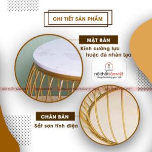 Bàn Trà Tâm Việt BT-13-2