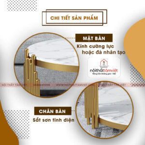 Bàn Trà Tâm Việt BT-16-2