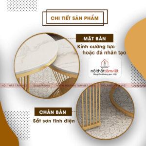 Bàn Trà Tâm Việt BT-18-2
