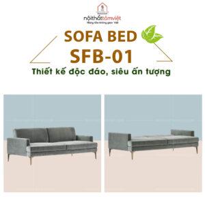 Sofa Bed | Sofa Giường | Sofa Đa Năng Tâm Việt SFB-01-1