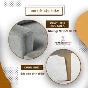 Sofa Bed | Sofa Giường | Sofa Đa Năng Tâm Việt SFB-01-2