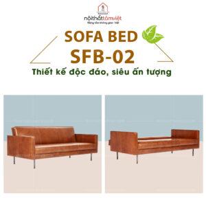 Sofa Bed | Sofa Giường | Sofa Đa Năng Tâm Việt SFB-02-1