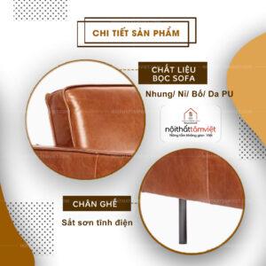 Sofa Bed | Sofa Giường | Sofa Đa Năng Tâm Việt SFB-02-2