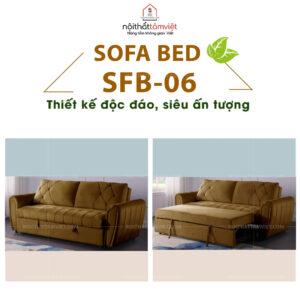 Sofa Bed | Sofa Giường | Sofa Đa Năng Tâm Việt SFB-06-1