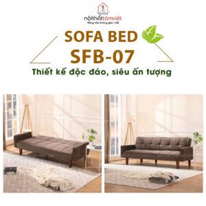 Sofa Bed | Sofa Giường | Sofa Đa Năng Tâm Việt SFB-07-1
