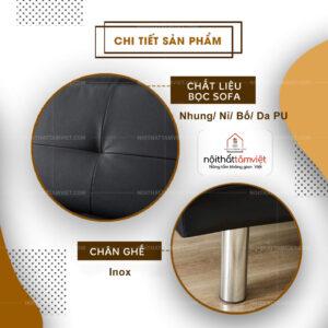 Sofa Bed | Sofa Giường | Sofa Đa Năng Tâm Việt SFB-12-2