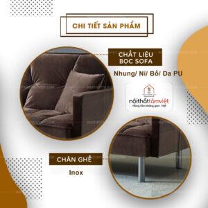 Sofa Bed | Sofa Giường | Sofa Đa Năng Tâm Việt SFB-13-2