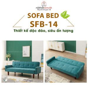 Sofa Bed | Sofa Giường | Sofa Đa Năng Tâm Việt SFB-14-1