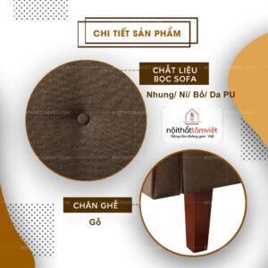 Sofa Bed | Sofa Giường | Sofa Đa Năng Tâm Việt SFB-14-2