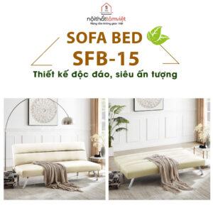 Sofa Bed | Sofa Giường | Sofa Đa Năng Tâm Việt SFB-15-1