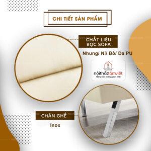 Sofa Bed | Sofa Giường | Sofa Đa Năng Tâm Việt SFB-15-2