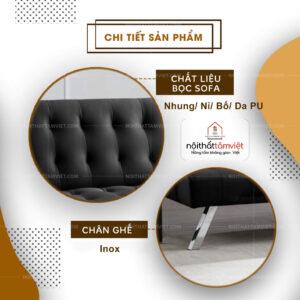 Sofa Bed | Sofa Giường | Sofa Đa Năng Tâm Việt SFB-16-2