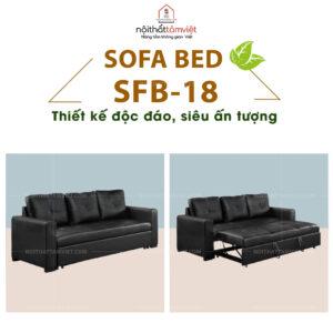 Sofa Bed | Sofa Giường | Sofa Đa Năng Tâm Việt SFB-18-1