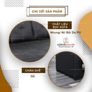 Sofa Bed | Sofa Giường | Sofa Đa Năng Tâm Việt SFB-18-2