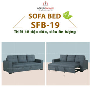 Sofa Bed | Sofa Giường | Sofa Đa Năng Tâm Việt SFB-19-1
