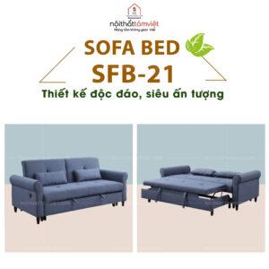 Sofa Bed | Sofa Giường | Sofa Đa Năng Tâm Việt SFB-21-1