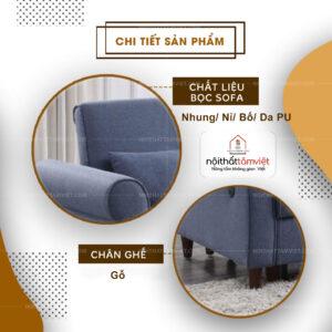 Sofa Bed | Sofa Giường | Sofa Đa Năng Tâm Việt SFB-21-2